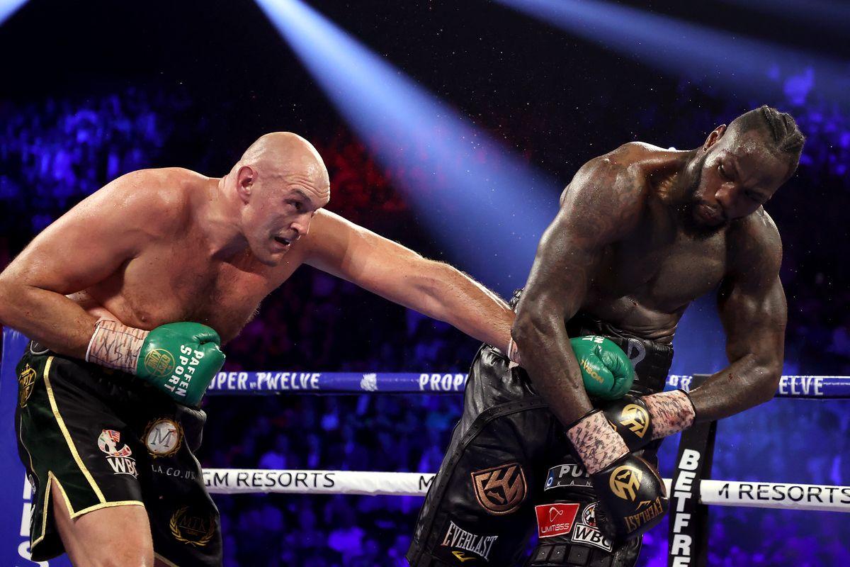 Fury Wilder heavyweight rankings
