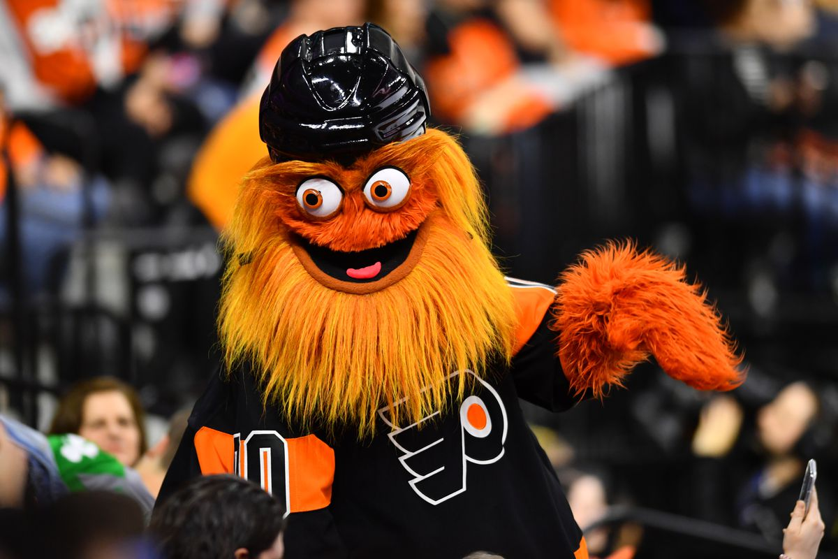 Gritty charges Philadelphia Flyers