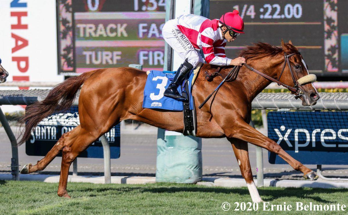 Jolie Olimpica at Las Cienegas Stakes
