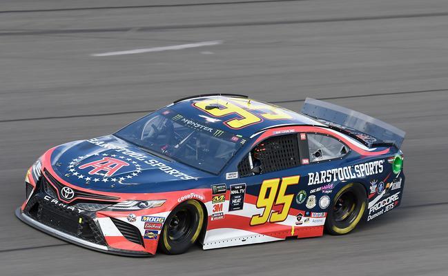 Barstool Sports sponsored NASCAR car