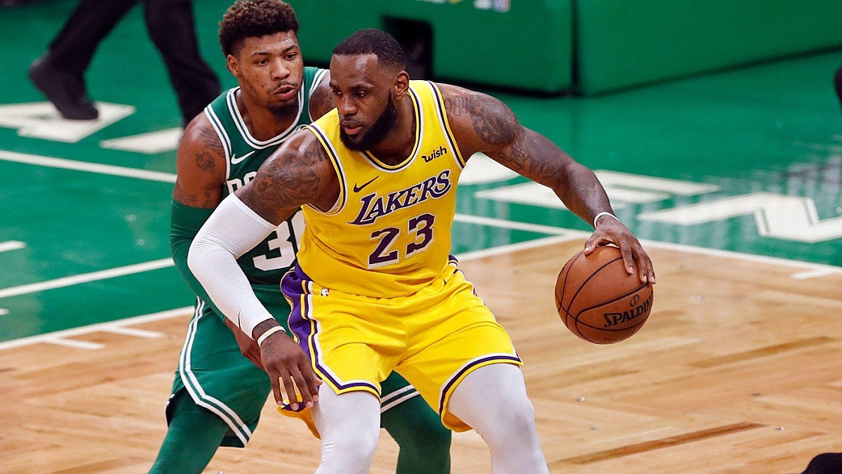 NBA Weekend Celtics Lakers Rockets Jazz Nuggets Thunder