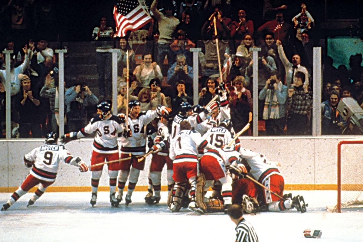 Miracle on Ice 1980 Winter Olympics Lake Placid USA USSR ice hockey
