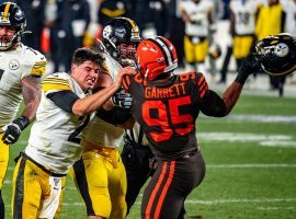 The NFL reinstated Myles Garrett, lifting his indefinite suspension after just six games missed. (Image: Erik Drost/Flickr)