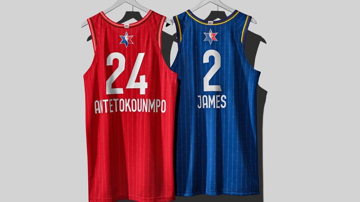 NBA All-Star Teams Team Giannis LeBron
