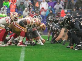 Baltimore Ravens and San Francisco 49ers are co-favorites to win Super Bowl LV in 2021. (Image: Patrick Smith/Getty)