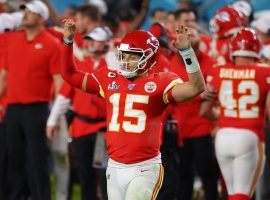 Patrick Mahomes opened as the favorite to win the 2020 NFL MVP award at the WestGate Las Vegas SuperBook. (Image: Ronald Martinez/Getty)