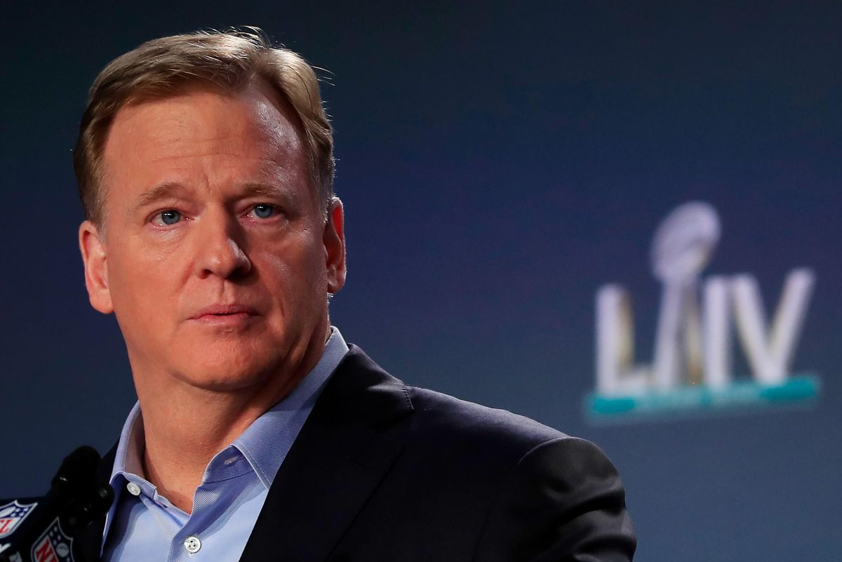 The NFL had hoped to lock up media rights early