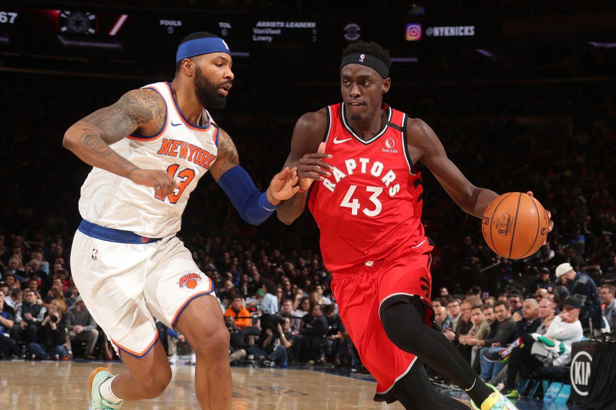 Toronto Raptors Winning Streak Pascal Siakam Terence Davis