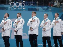 Team Shuster won the gold medals in curling for the United States at the 2018 Winter Olympics. (Image: Richard Heathcote/Getty)