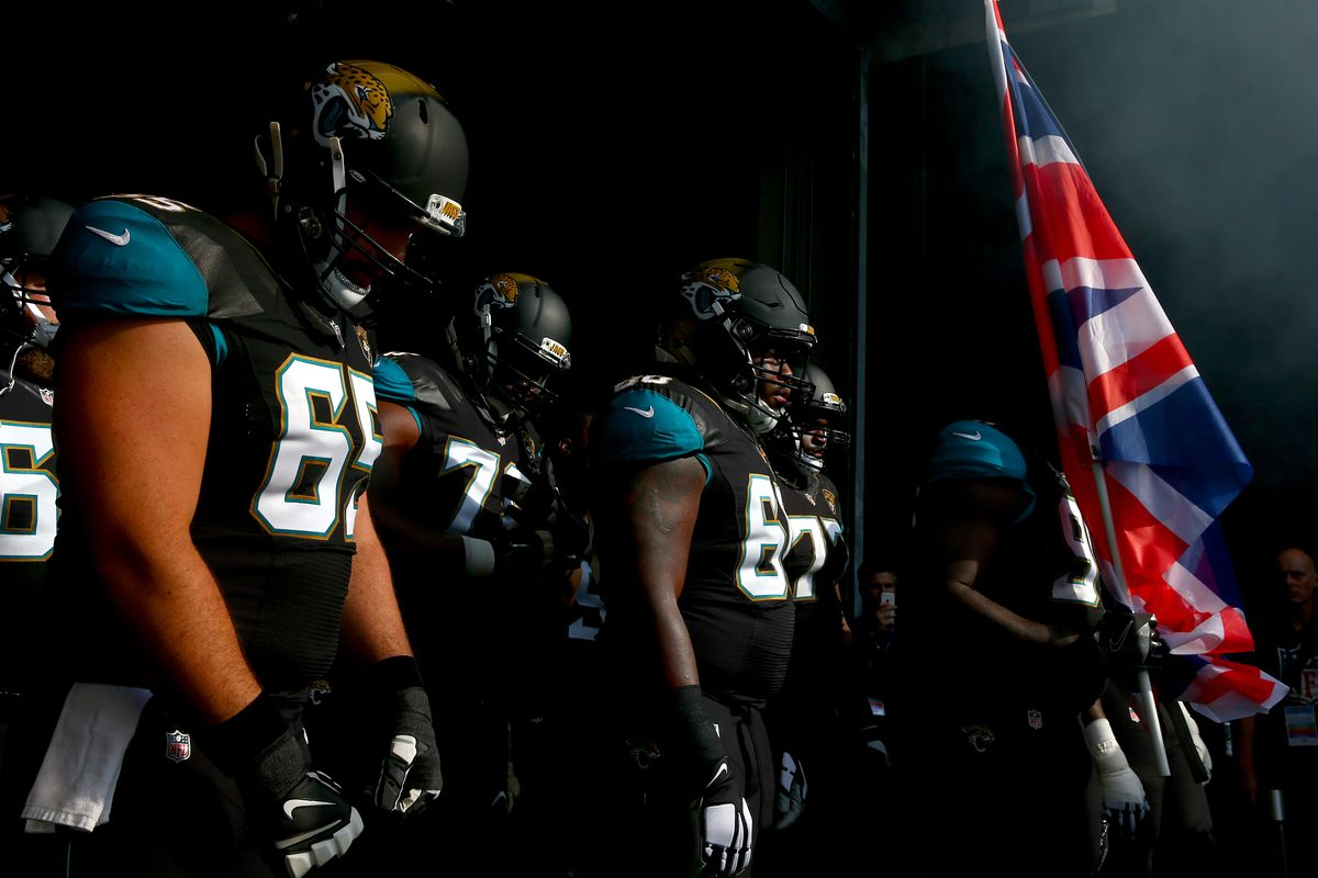 London Jaguars Jacksonville NFL