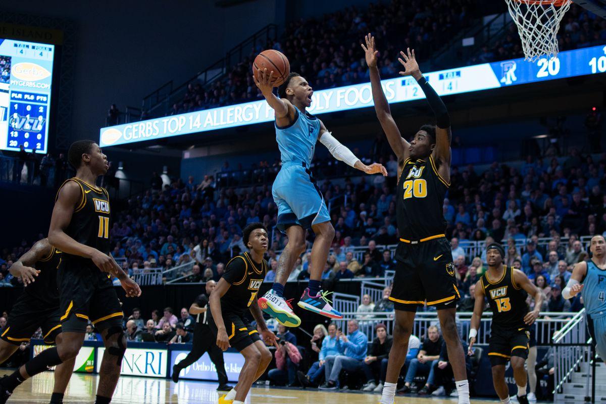 Rhode Island Rams basketball Fatts Russell Bubble