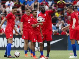 The US men's national soccer team issued a scathing statement, accusing US Soccer of drastically underpaying both the women's and men's teams. (Image: John Minchillo/AP)