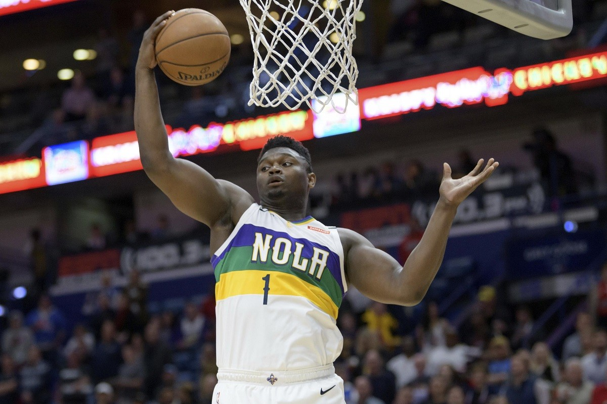 Zion Williamson Rookie New Orleans Pelicans Hype
