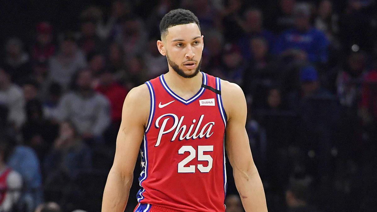 Ben Simmons injury back philadelphia 76ers Sixers