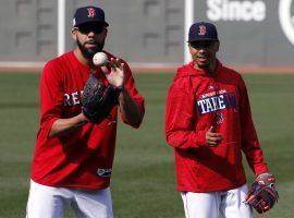 Boston pitcher David Price, left, is part of the Mookie Betts trade and the two are reportedly going to Los Angeles. (Image: AP)