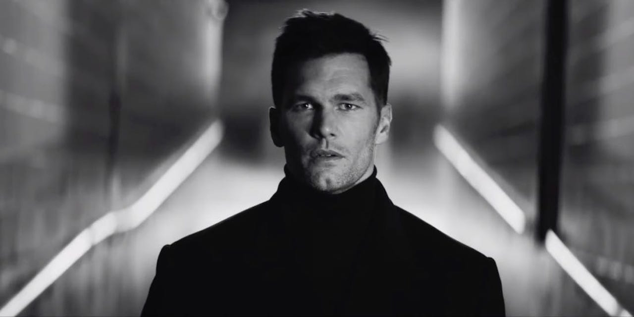 Tom Brady Super Bowl commercial
