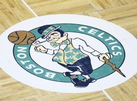 Without legalized sports betting in Massachusetts, the Celtics settled for a daily fanstasy sports deal with DraftKings. (Imate: Chris Elise?Getty)