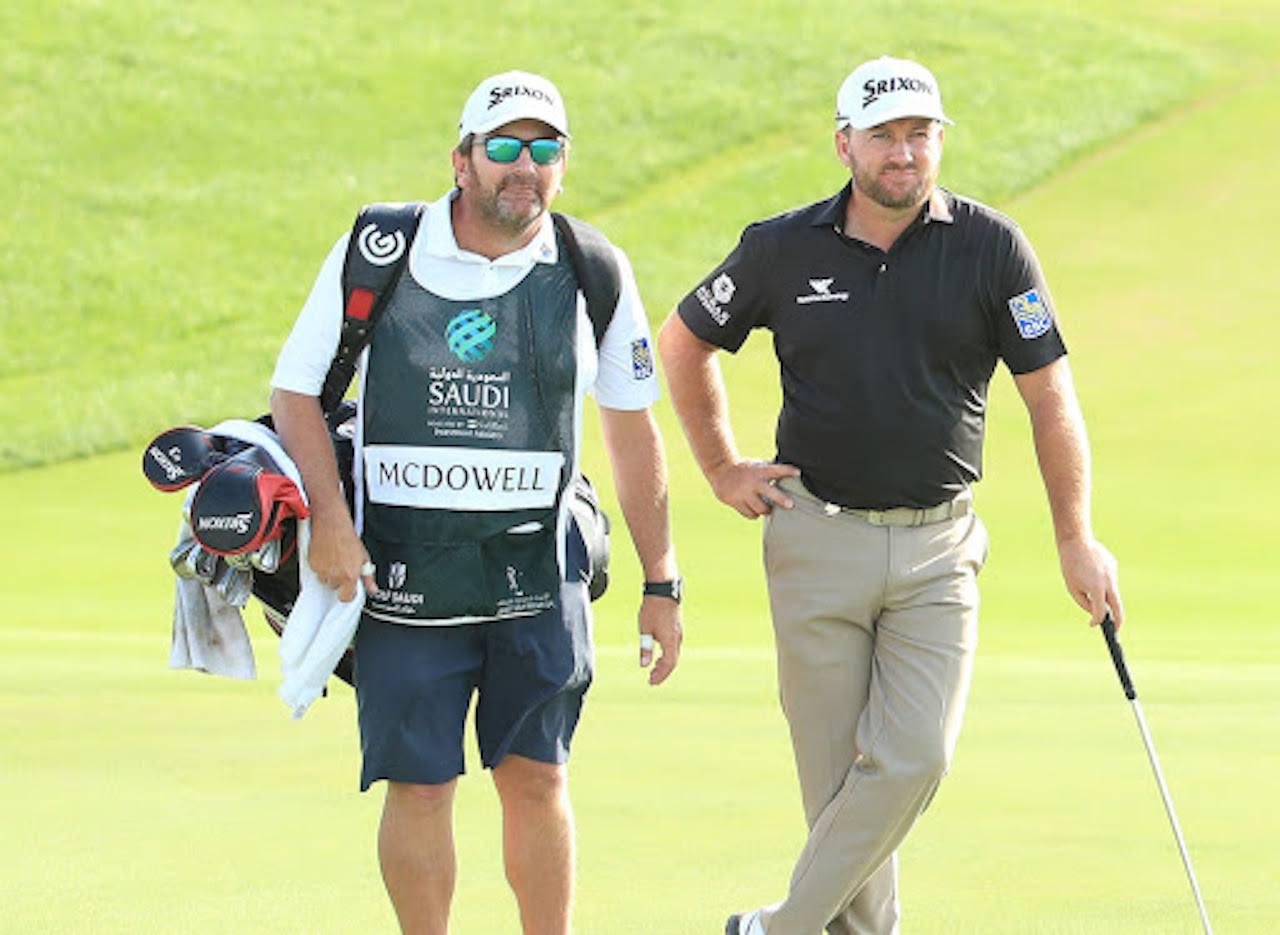 Graeme McDowell golf longshot