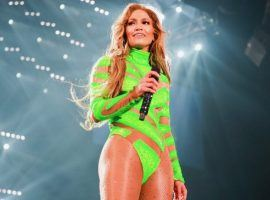 Oddsmakers have put up a couple of wagers on whether halftime entertainer Jennifer Lopez will show butt or breast cleavage in one of many wacky Super Bowl prop bets. (Image: Rich Fury)