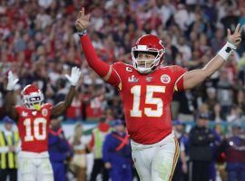 Kansas City quarterback Patrick Mahomes led the Chiefs to victory in Super Bowl 54, and as a result sportsbooks celebrated a million-dollar win over bettors. (Image: Getty)