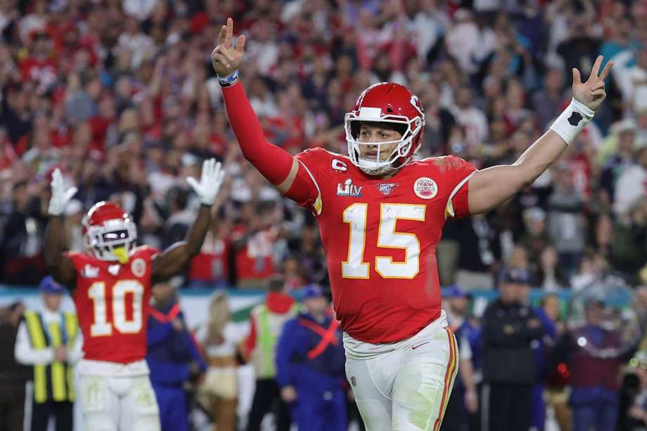 Kansas City quarterback Patrick Mahomes sportsbooks million-dollar win