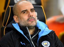 With European football possibly out next year, Pep Guardiola bears the weight of staying through 2021 or leaving at the end of this year. (Image: Sky Sports)