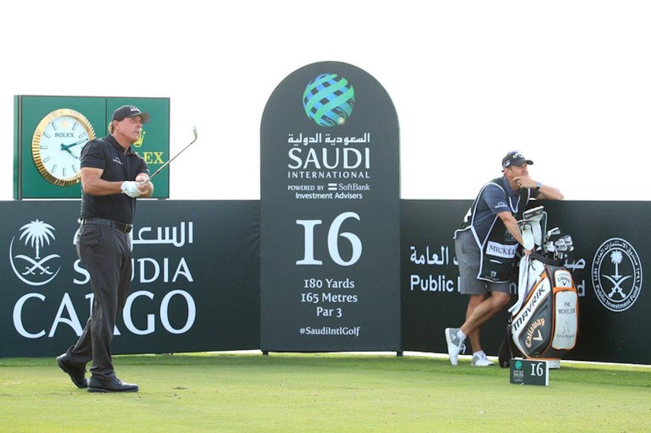 Phil Mickelson Saudi Invitational