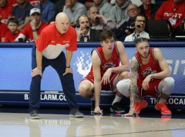 Saint Mary's Gaels basketball head coach, Randy Bennett (left), on pace for his 18th consecutive winning season. (Image: Tod Fierner/St. Mary's Athletics)