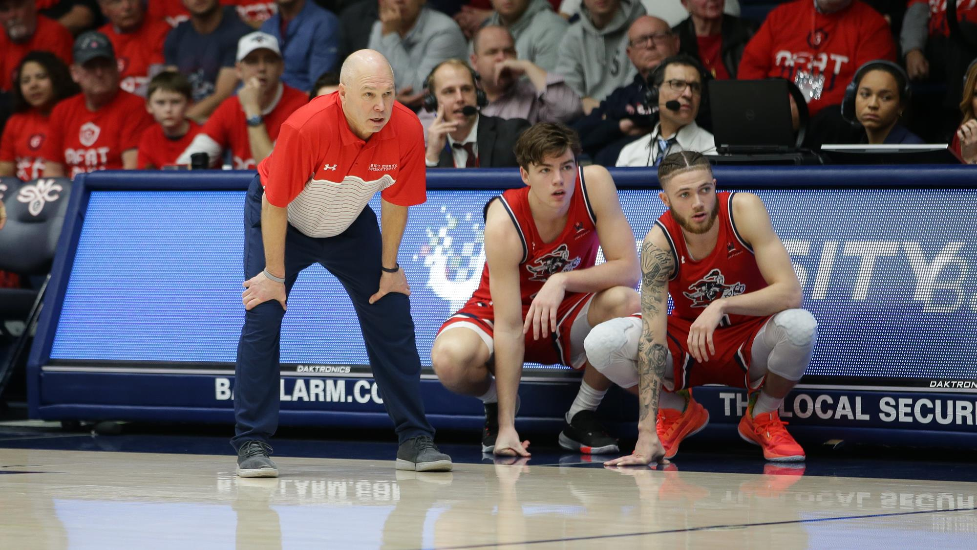 Saint Mary's Gaels basketball WCC Randy Bennett March Madness Bubble