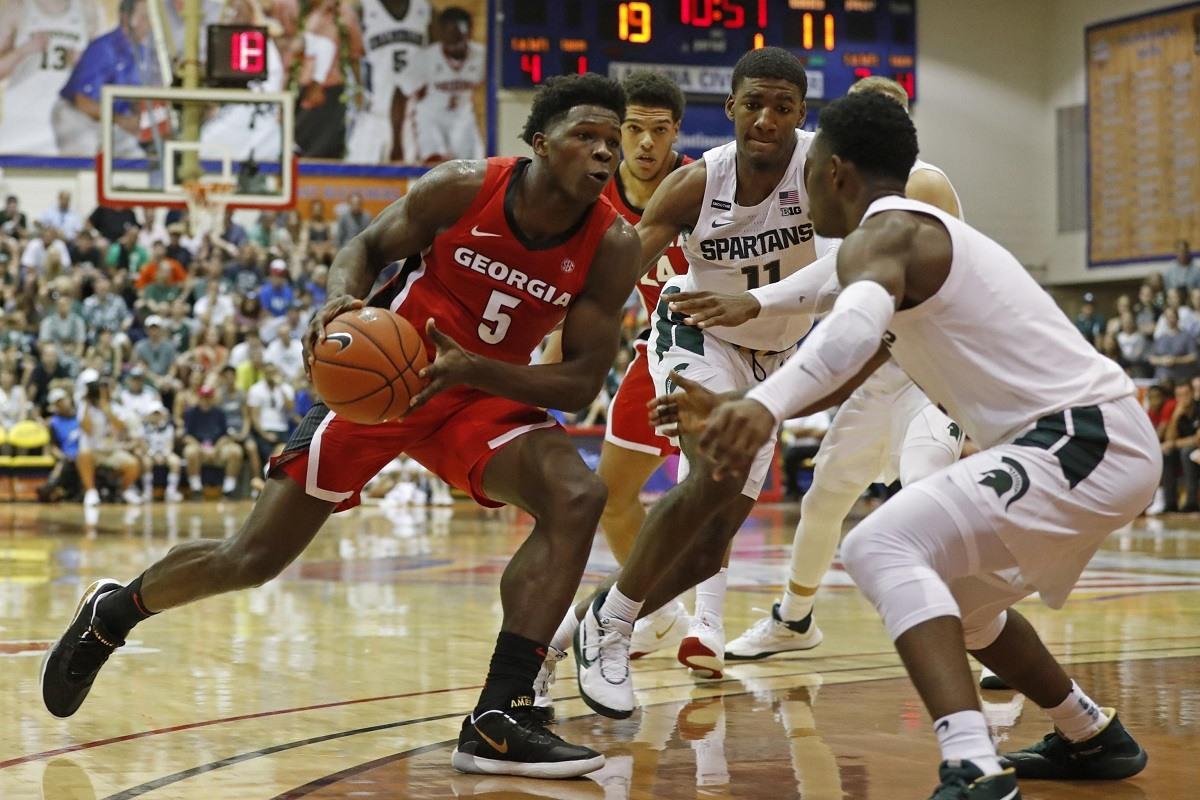 Anthony Edwards Georgia NBA Draft