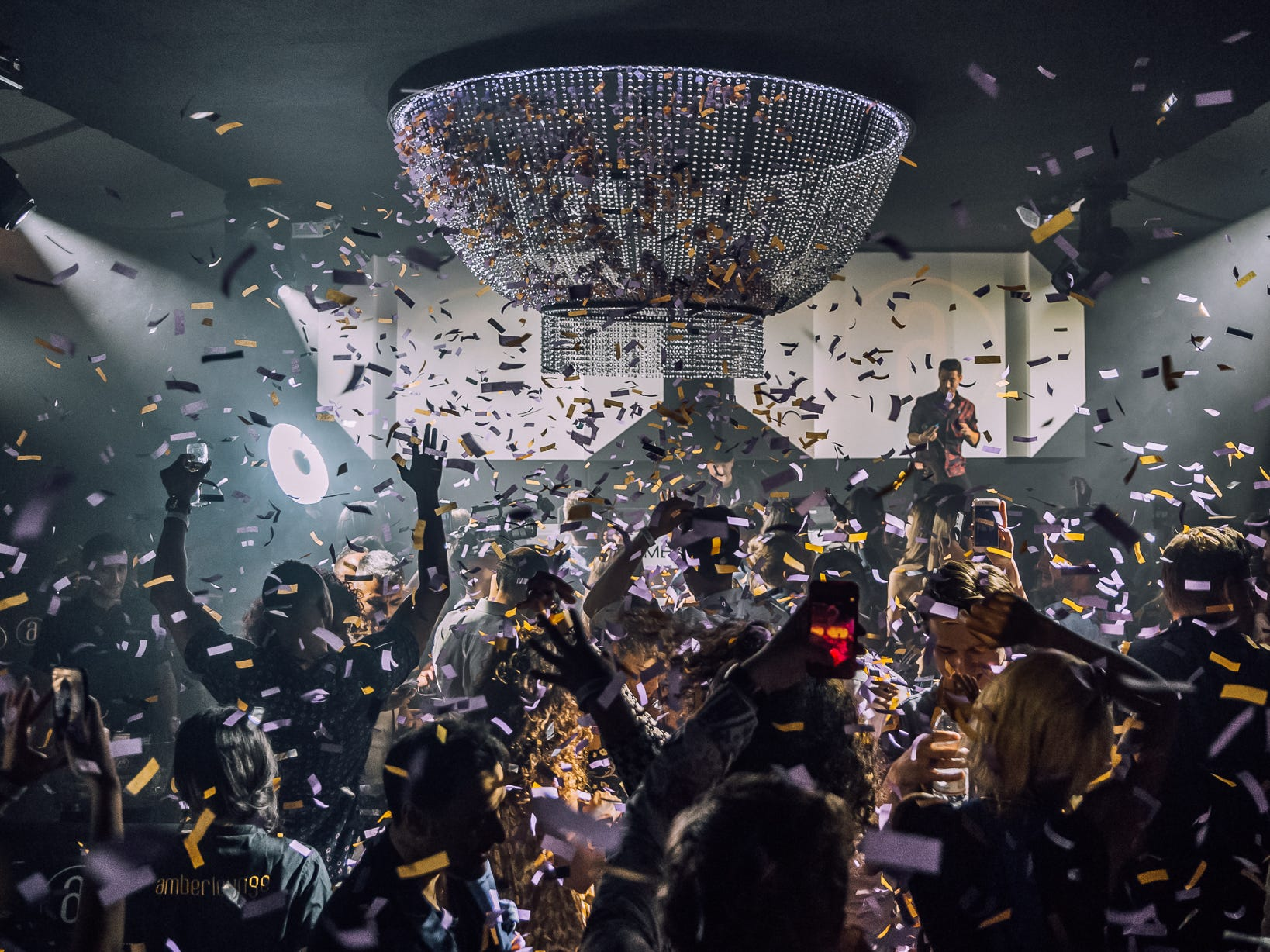 F1 after parties are part of the F1 experienceer Lounge might cost you $35,000 for an F1 weekend. (Image: Amber Lounge)