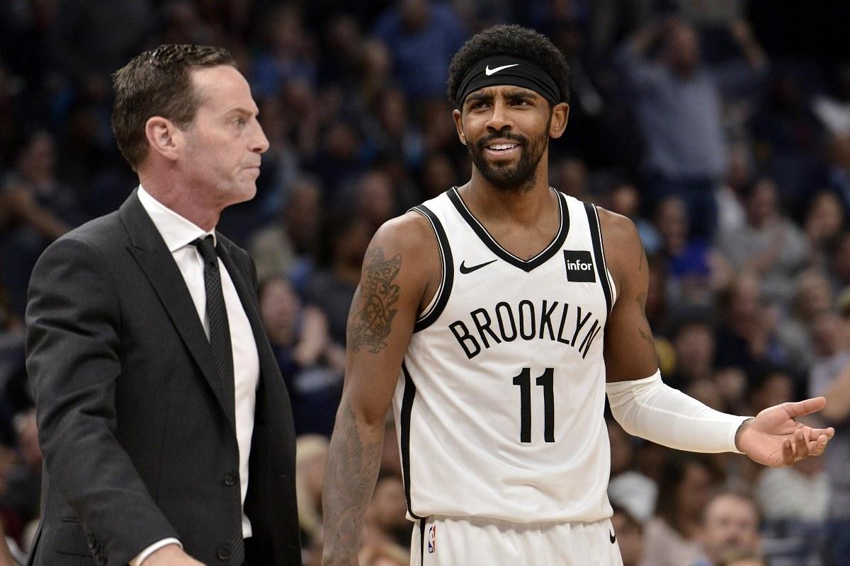 Kenny Atkinson Brooklyn Nets head coach