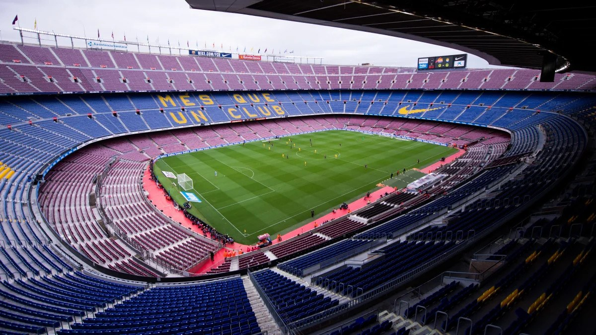 La Liga coronavirus empty stadiums