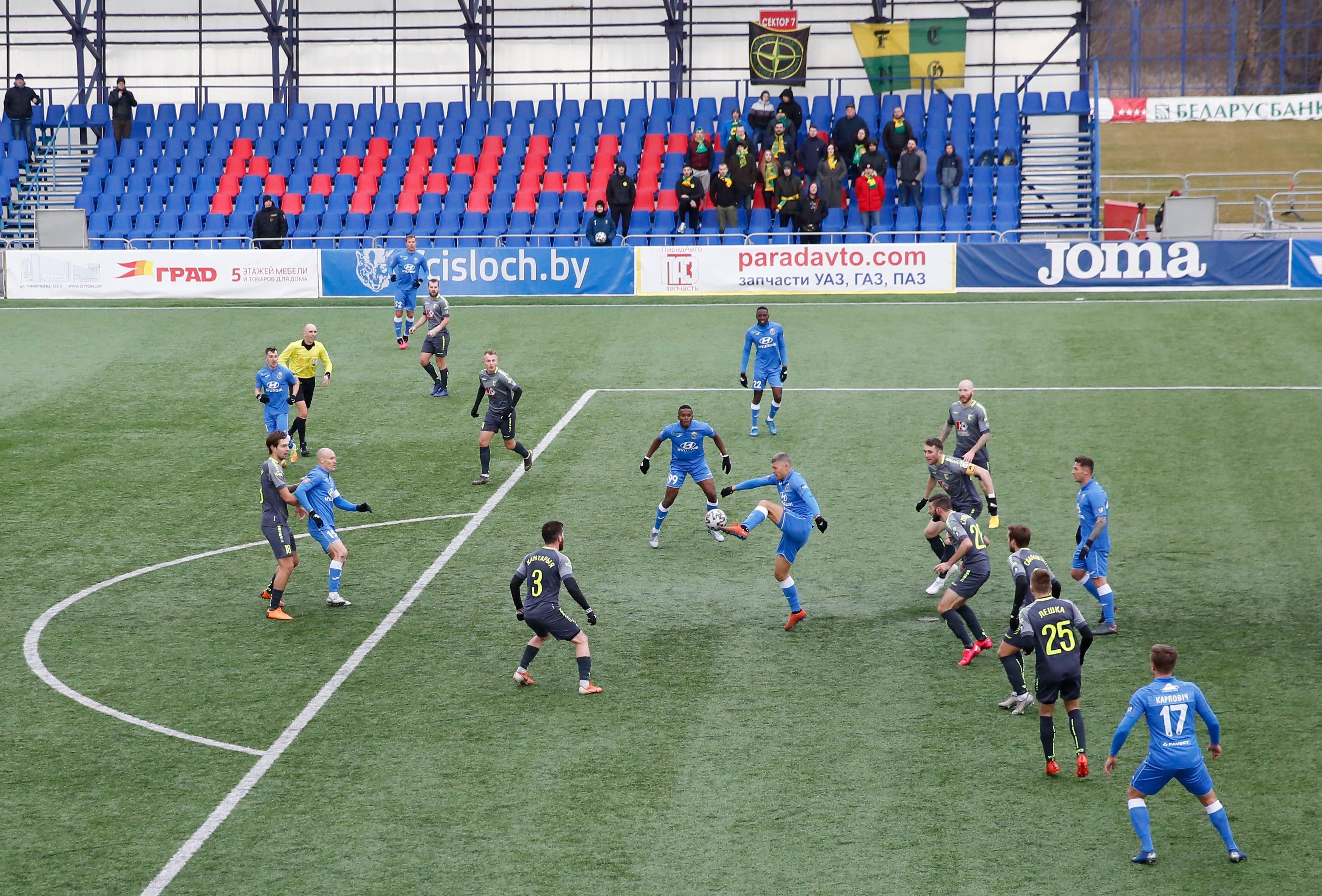 Belarusian Premier League soccer