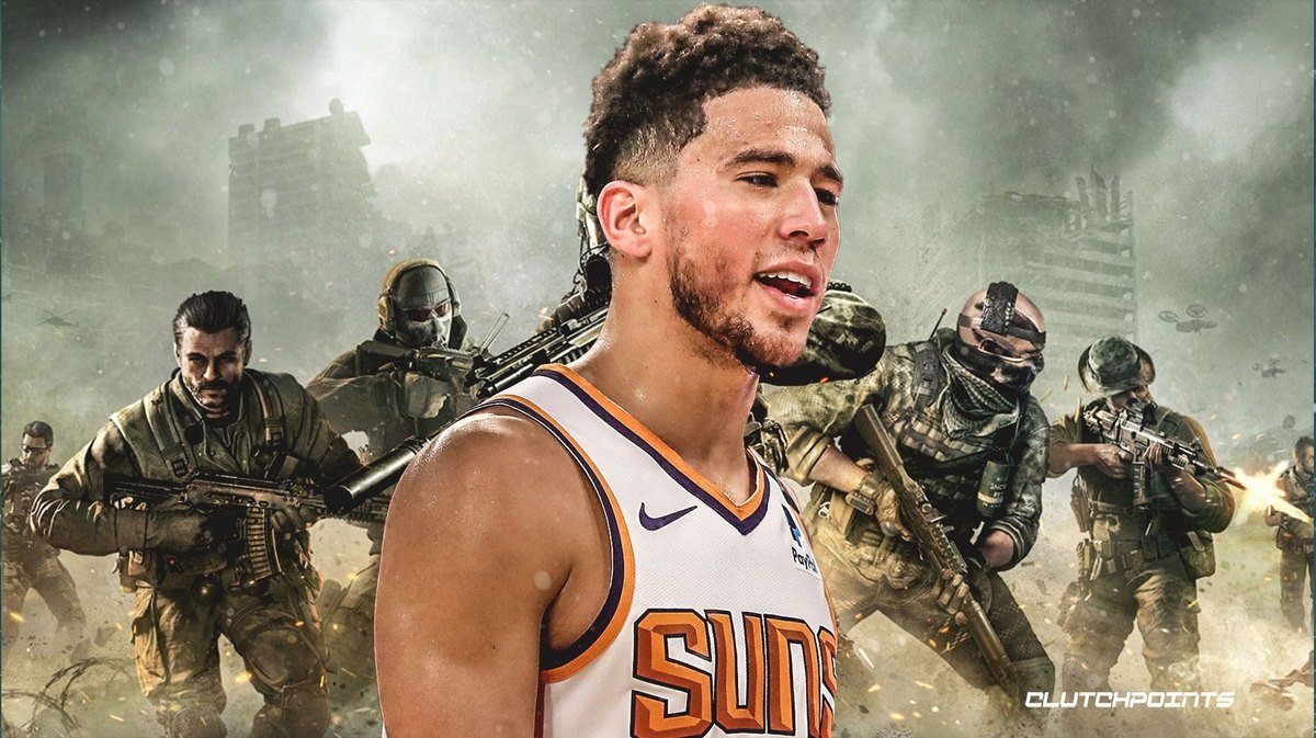 Devin Booker Call of Duty