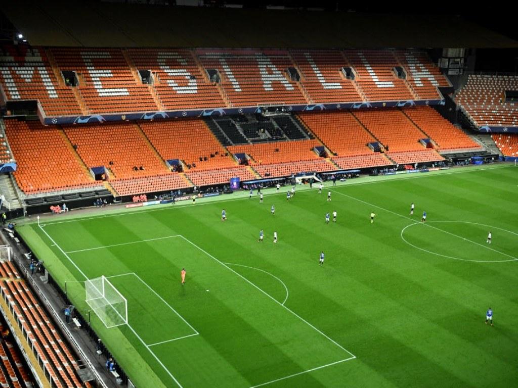 Champions League Empty Stadium