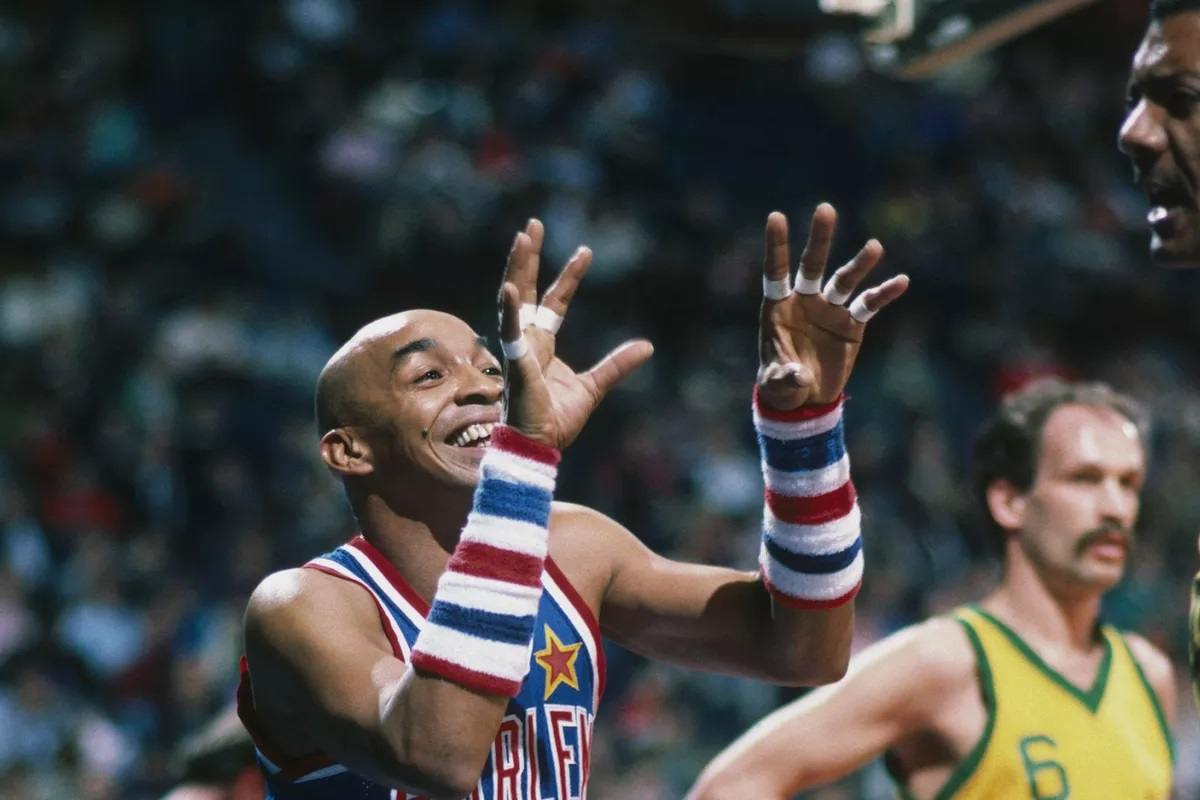 Curly Neal Harlem Globetrotters