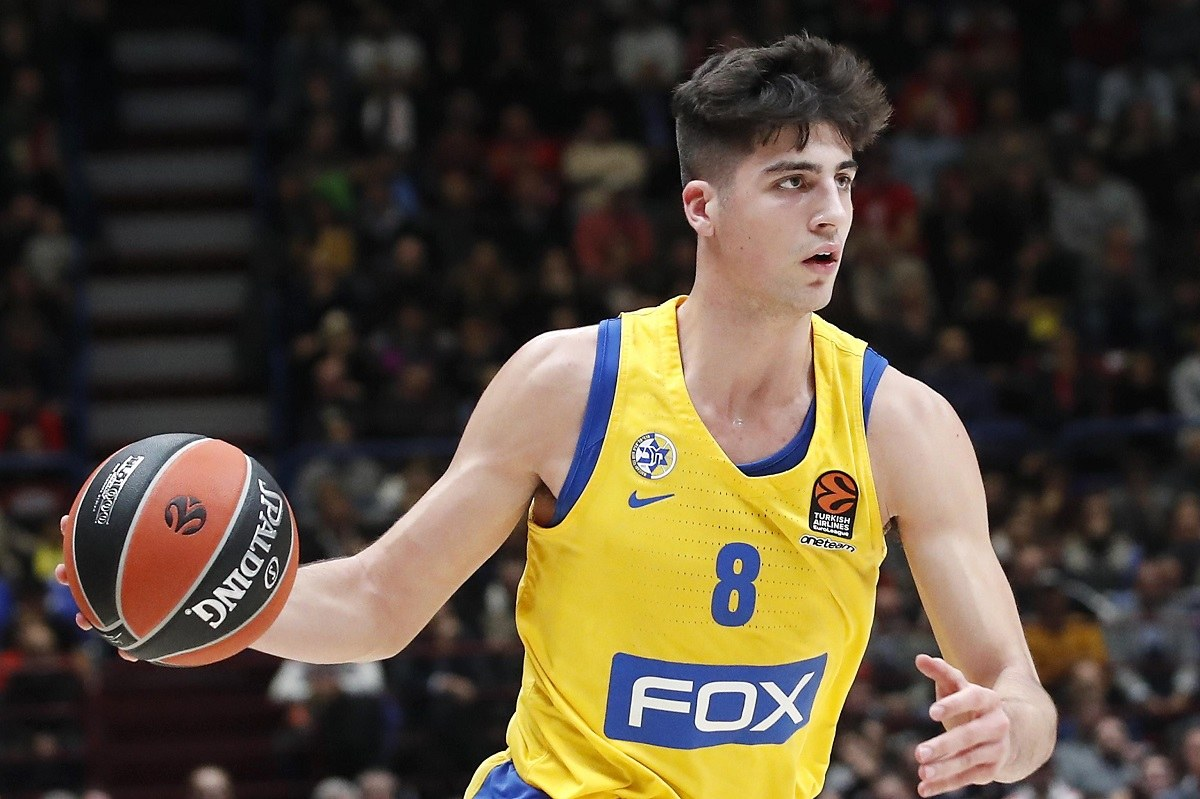 Israel Deni Avdija NBA Draft Lottery Pick