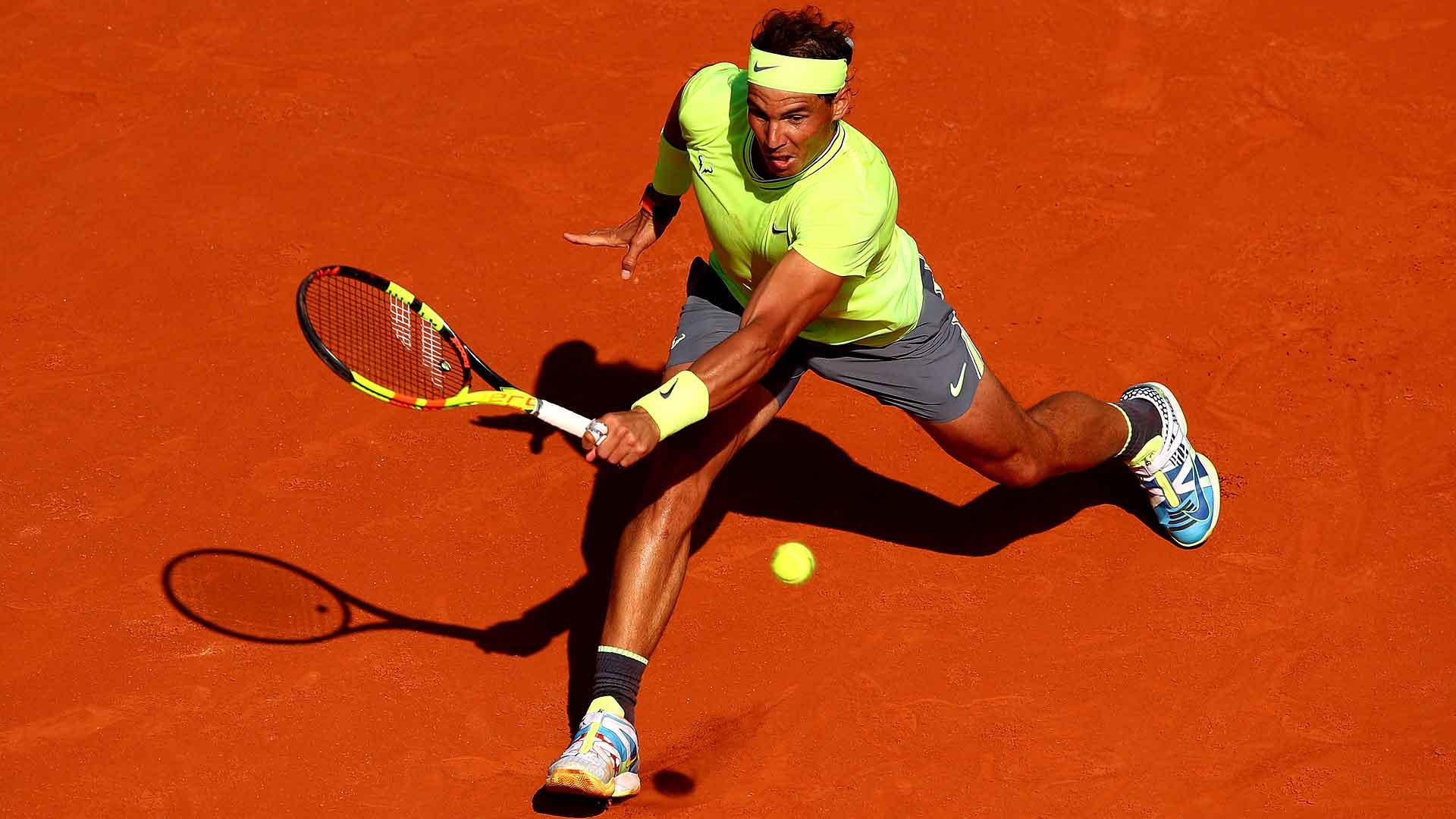 Tennis calendar French Open