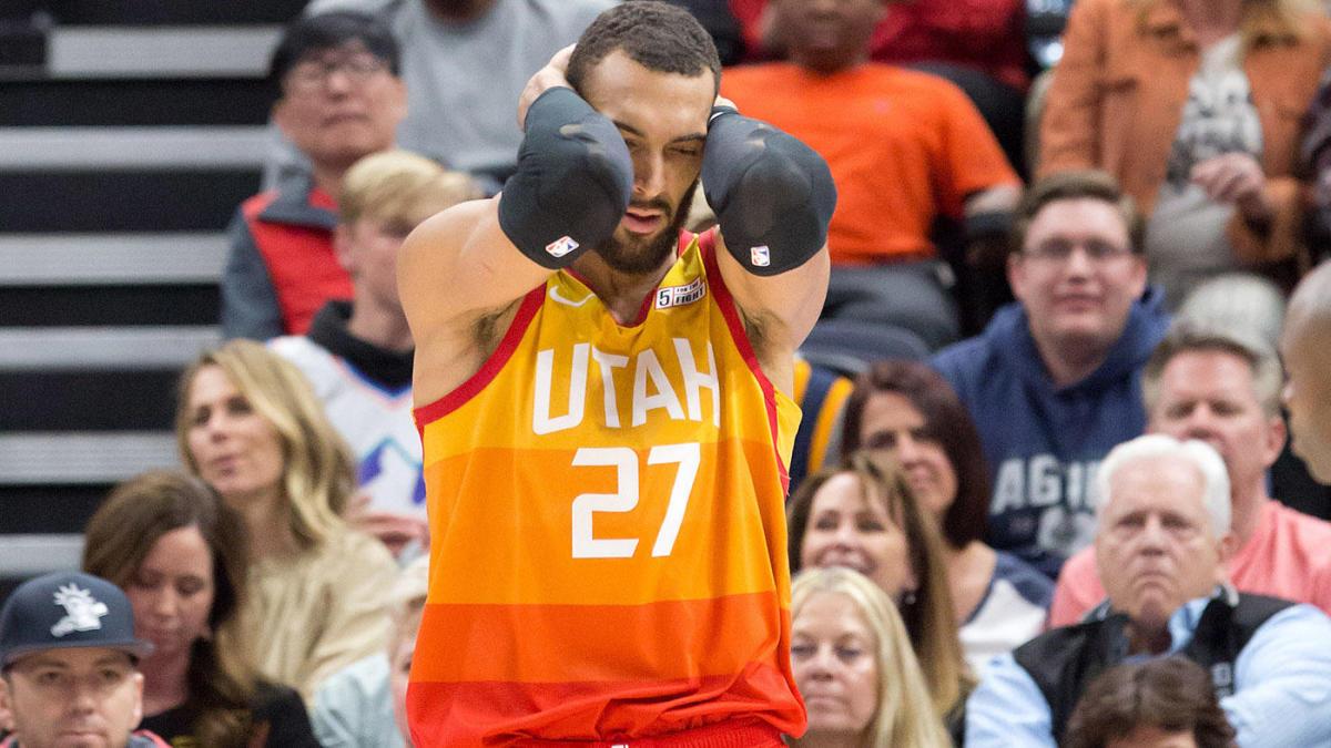 Rudy Gobert coronavirus NBA Utah Jazz suspends