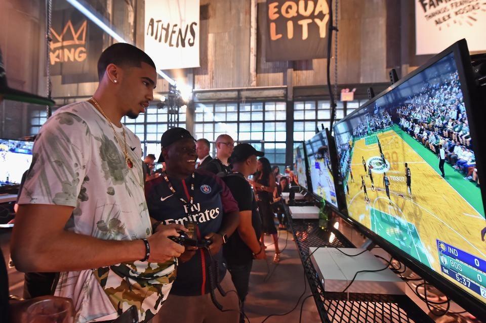 NBA 2K eSports tournament Jayson Tatum