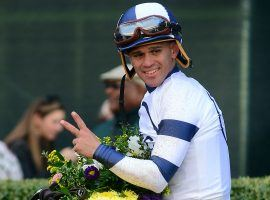 Javier Castellano is one of the best big-race riders in the country. Now, as the first prominent jockey to test positive for COVID-19, he becomes the unwilling face of the pandemic in his sport. (Image: Getty Images)