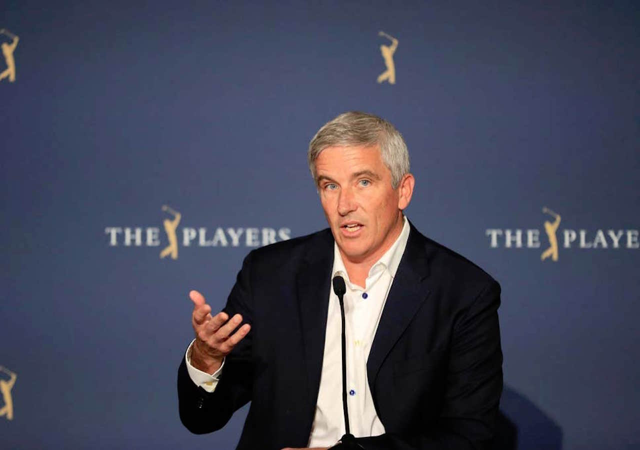 Commissioner Jay Monahan PGA Tour tournaments cancelled