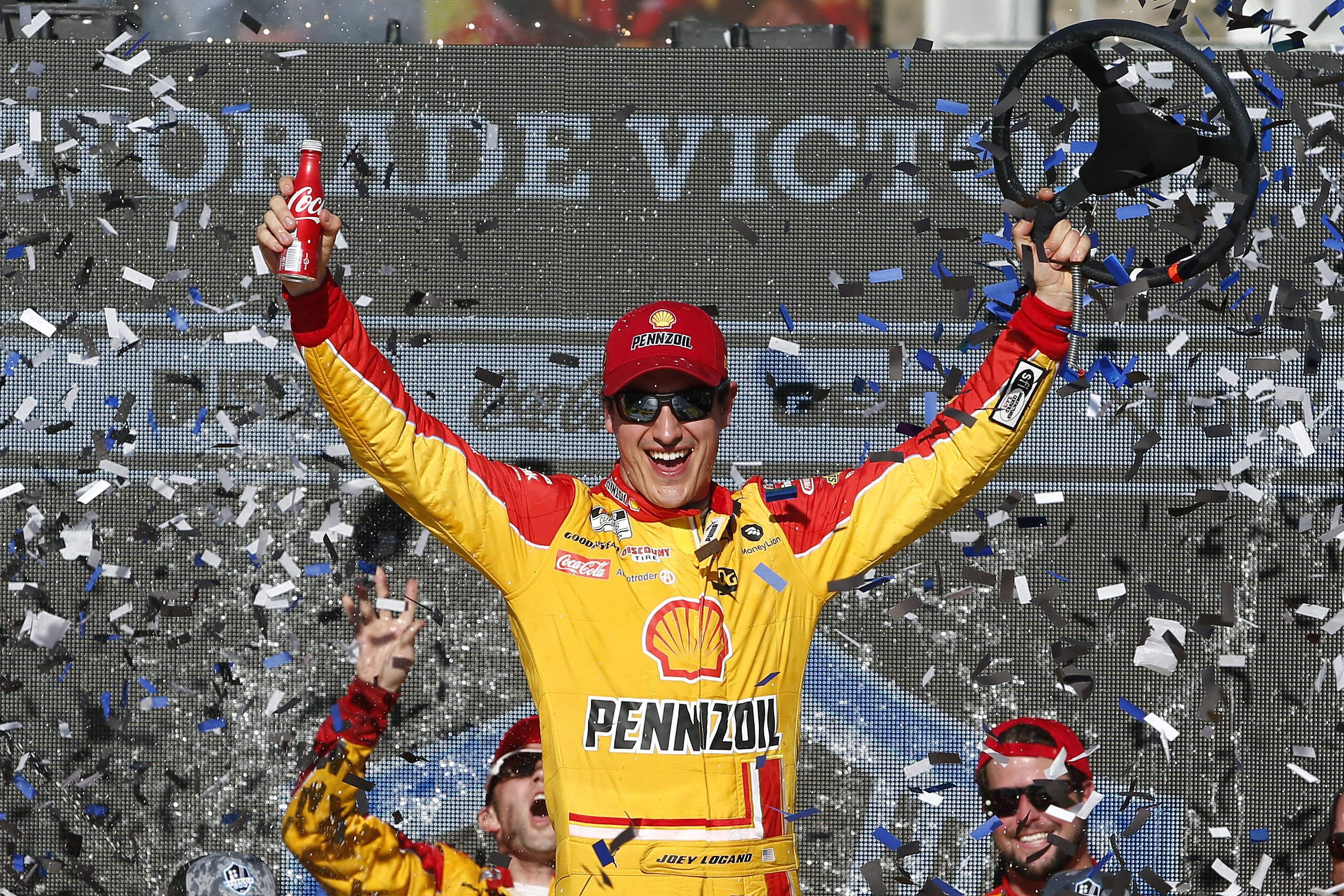 Joey Logano NASCAR Phoenix