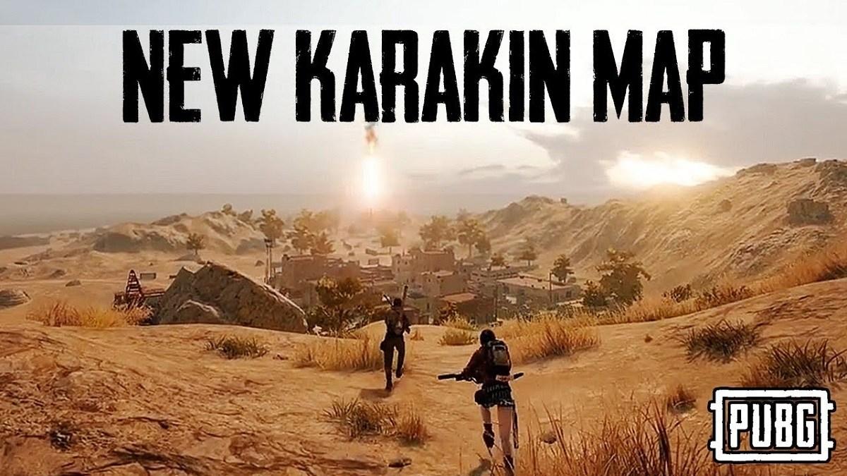 PUBG New Map Karakin Mobile Pro League South Asia