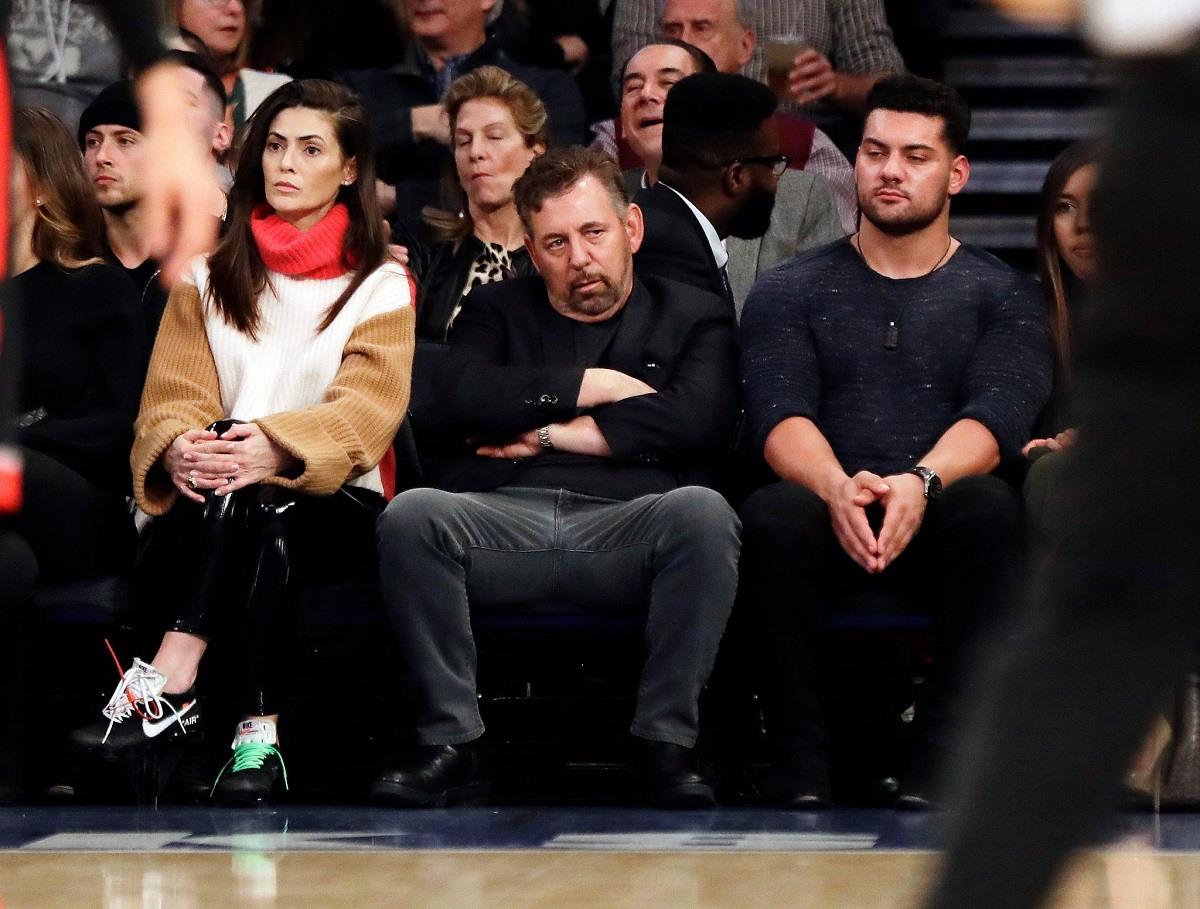 New York Knicks owner James Dolan coronavirus