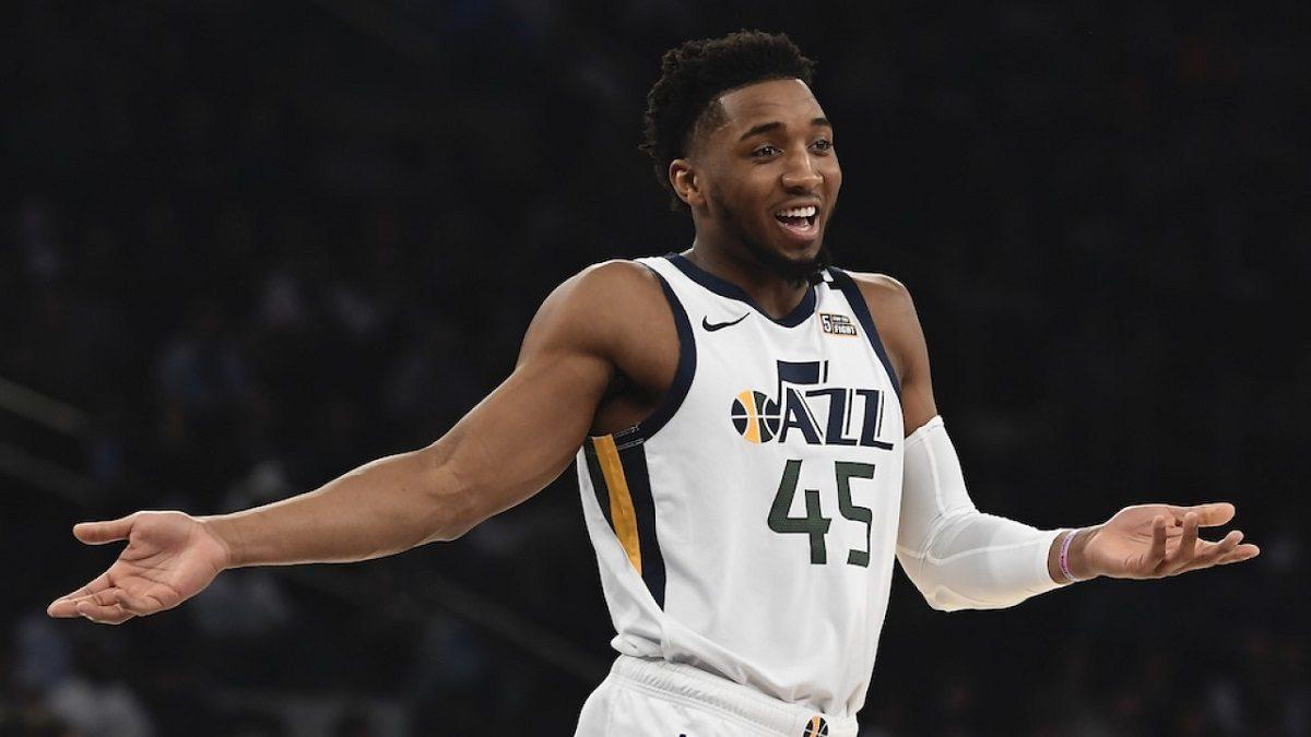 Utah Jazz coronavirus Donovan Mitchell NBA