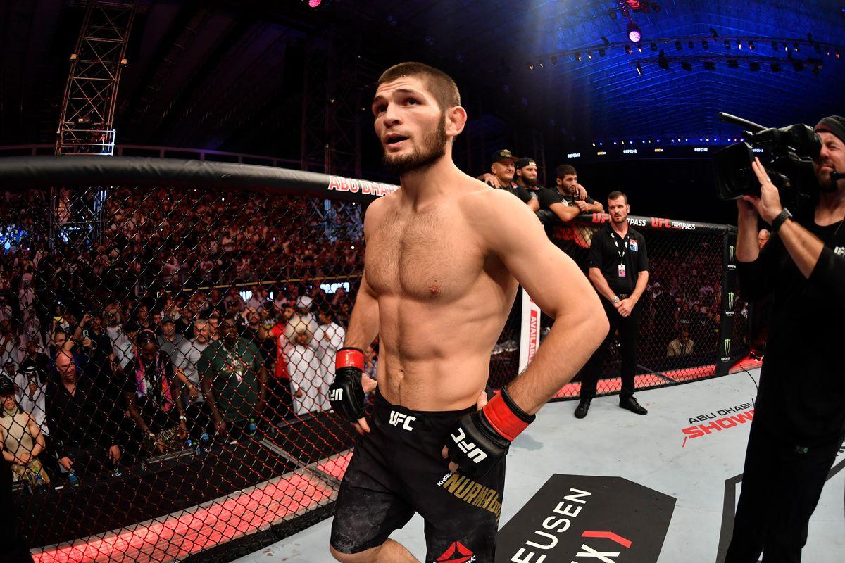 UFC Nurmagomedov Ferguson coronavirus