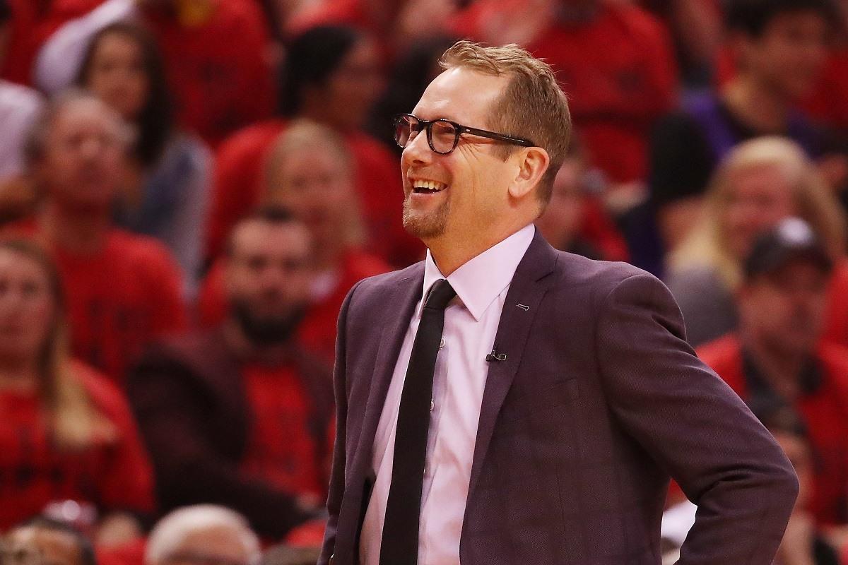 Nick Nurse NBA Coach of the Year Odds