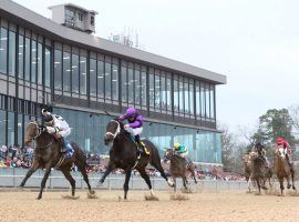 Even by moving the Arkansas Derby from April to May, Oaklawn Park's role as one of the last Kentucky Derby preps won't come into play in 2020. (Image: Oaklawn Park)